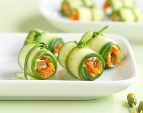 Mini-Veggie-Sushi